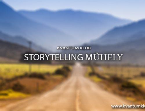 Storytelling havi találkozó – Kvantum Klub